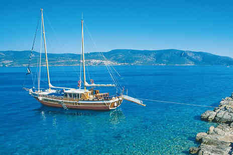 Just Sunshine - Seven night Turkey cruise including flights and 3 meals per day  - Save 37%