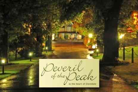 Peveril of the Peak Hotel - £69 for One Night Peak District Retreat For Two with Two Course Meal - Save 60%