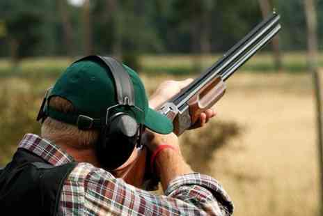 Powys Shooting - Clay Pigeon Shooting With Drink  - Save 50%