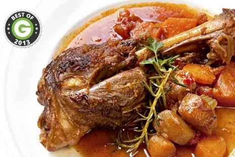 Da Mimmos - Lamb Shank Meal For Two - Save 62%