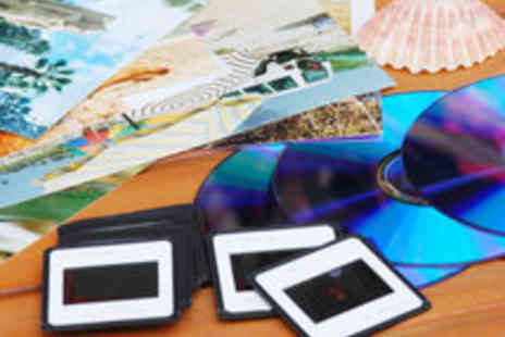 DigiScan - Voucher for a Choice of VHS Slides Photos or Photo Negatives Scanned to DVD - Save 58%