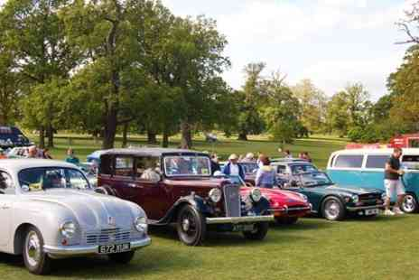 Gemini Events - The Bedfordshire Classic Motor Show Entry For Two  - Save 44%