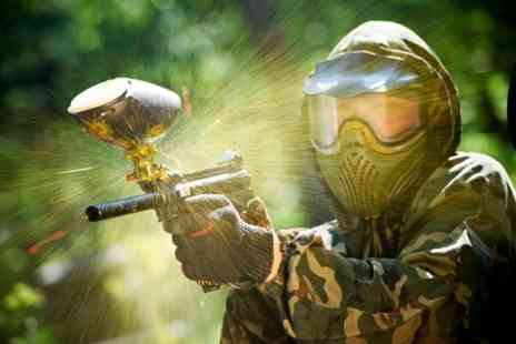 Universal Paintball - Paintballing experience with 500 rounds of ammo - Save 58%