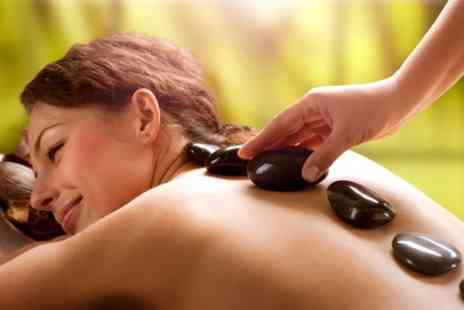 RB Hair & Beauty - Choice of Massage With Facial or Pedicure  - Save 66%