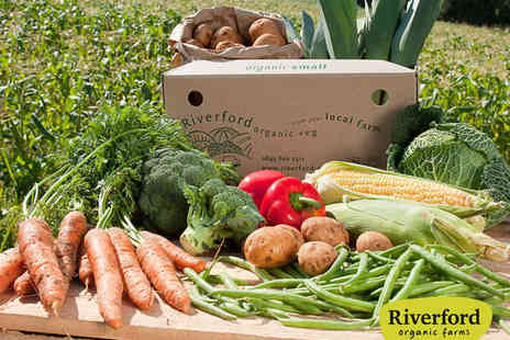Riverford Organic - Three Organic Vegetable Boxes with Delivery - Save 53%