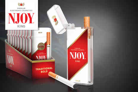 NJOY - Three pack of NJOY electronic cigarettes - Save 50%
