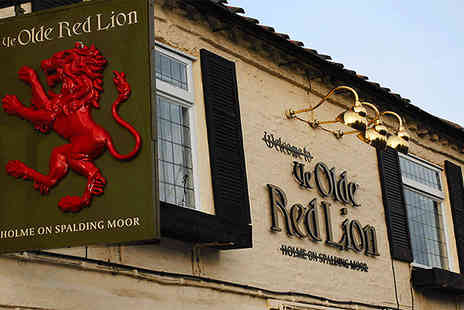 Ye Olde Red Lion - One night weekend stay including  full english breakfast in North Yorkshire - Save 50%
