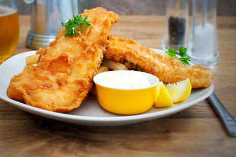 Seafarers St Annes - Fish chips and drinks for 2 people - Save 46%