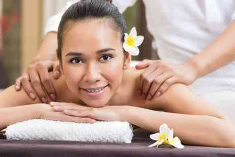 Thai Spa Village - Back Massage With Facial Treatment  - Save 57%