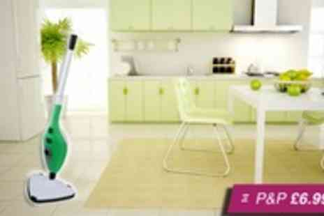 Silver Fishes - Pro Steam 9 in 1 steam mop - Save 56%