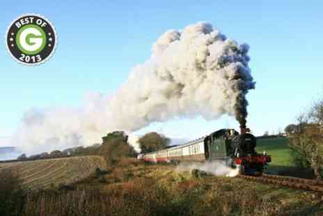 Bodmin & Wenford Railway -  Train Pass For Two  - Save 50%
