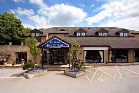 BEST WESTERN Hotel St. Pierre - One Night Stay For Two With Bottle of Wine  - Save 58%