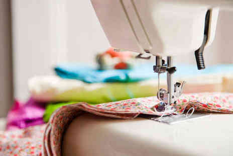 The London Sewing Room - Three Hour Sewing Machine Workshop or Sewing Machine Class for Men  - Save 58%