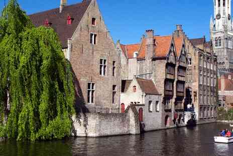 The Leonardo Hotel - Escape for a romantic break in the delightful city of Bruges with breakfast - Save 63%