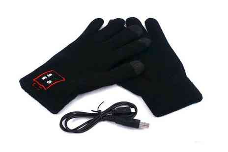 Sterling Distribution - Bluetooth Talking Gloves - Save 68%