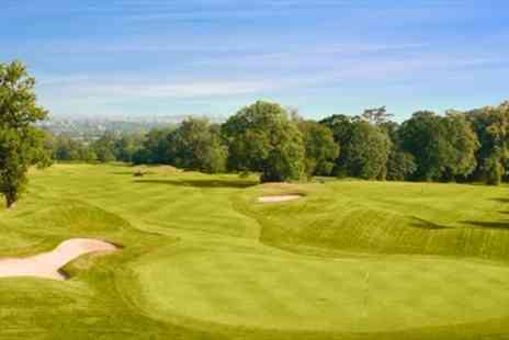 Hawkstone Park Golf Club - Championship Course Golf & Bacon Rolls for 2 - Save 57%
