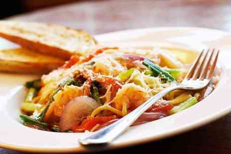 Fratelli - Two Course Italian Meal With Wine For Two - Save 58%