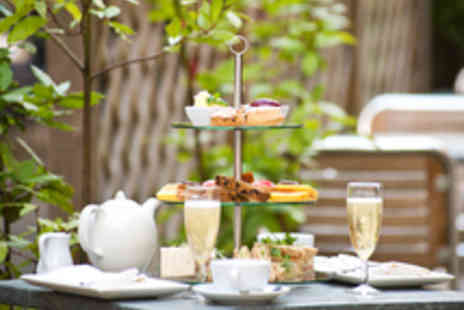 Villiers Hotel - Lavish Champagne Afternoon Tea for Two - Save 45%
