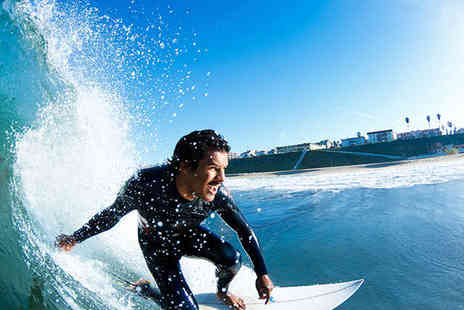 Surf Steps - Two Hour Surf Lesson with Board and Wetsuit Hire for One  - Save 51%