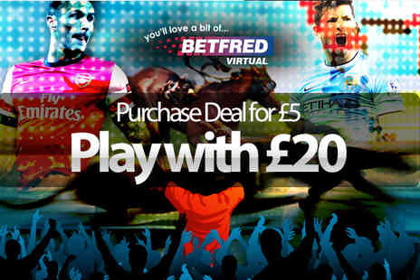 Active Wins - Free Play at Betfred.com - Save 75%