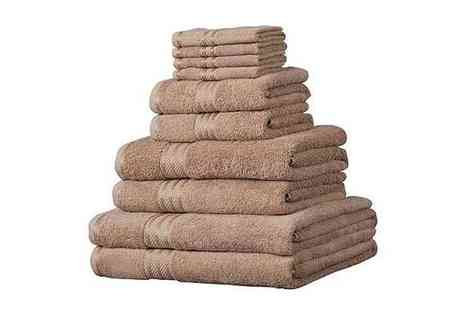 Linens Limited - Egyptian Cotton 14 Piece Towel Bale - Save 21%