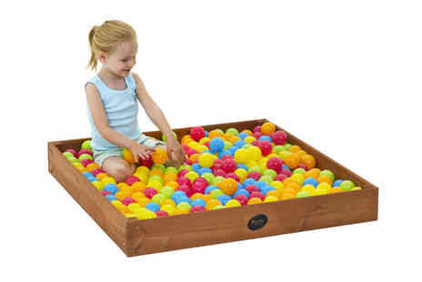 247Toys - Junior Wooden Sand Pits - Save 58%
