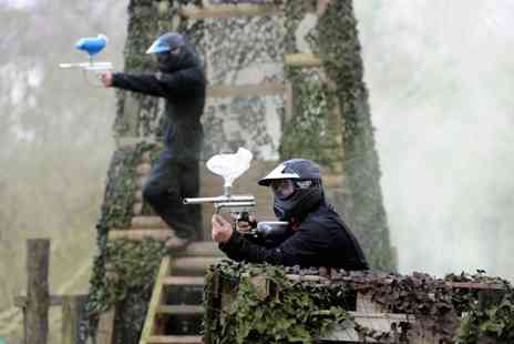 Nationwide Paintball - Paintballing tickets for up to 10 - Save 95%