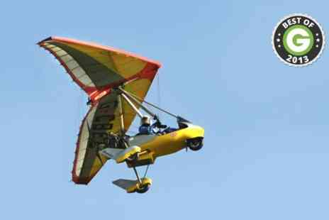 Clearprop Microlight School - 30 Minute Microlight Flight With Certificate - Save 0%