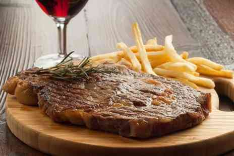 The Cross Hands of Alveston - Seafood Platter or Steak With Wine - Save 51%