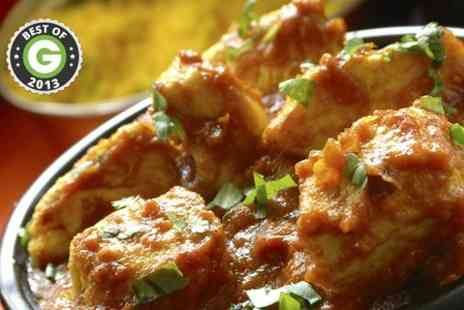 Rajkot Indian Restaurant - Two Course Indian Meal For Two - Save 65%