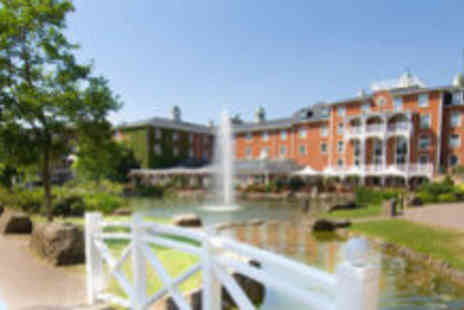 Alton Towers Resort - One night luxury spa stay for two, including breakfast - Save 52%