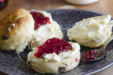 The Hidden Gem Cafe - Cream Tea for Two - Save 52%