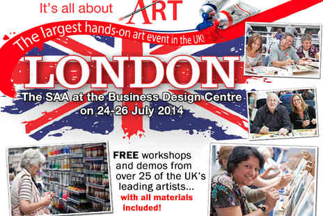 society for all artists - Early Bird Ticket to It s All About Art 2014 in Islington - Save 33%