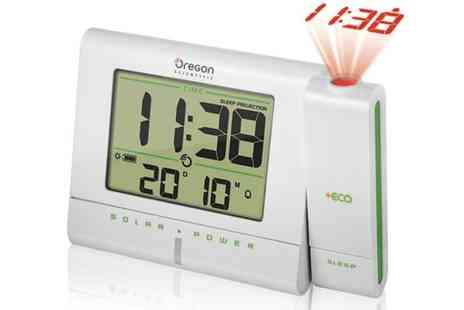 UK Surplus Central - Scientific Eco Projector Alarm Clock - Save 58%