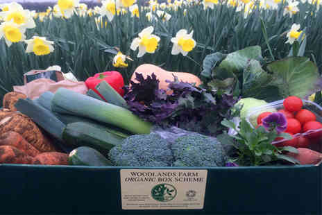 Woodlands Organic Farm - Organic veg box PLUS delivery - Save 54%