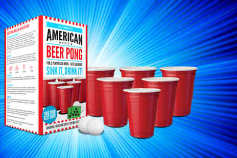 Gadget Inspector - Ultimate American style Beer Pong set - Save 50%