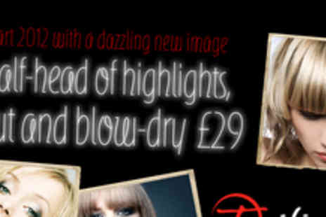 Twilight Salons - Half head of highlights, cut and blow dry - Save 61%