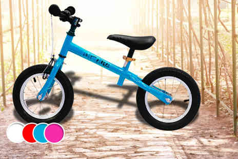 The Unit Skatepark - Balance bike in blue pink, red or white - Save 67%