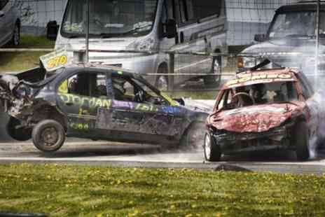Buxton Raceway - Banger and Stock Car Racing Ticket For Two  - Save 54%