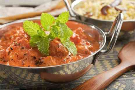 The New Delhi - Three Course Indian Meal For Two - Save 50%