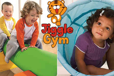 Jiggle Gym - Jiggle Gym come enjoy physical soft play classes for children up to 3 years old - Save 50%