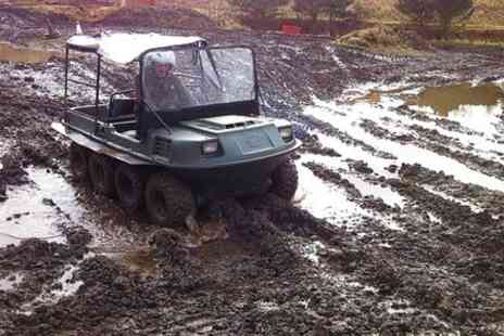 Tank Driving Scotland - Argo Cat Amphibious Buggy Experience For One - Save 52%