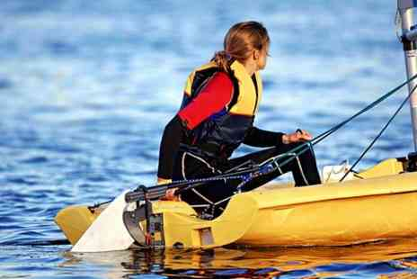 Surrey Docks Watersports Centre - Sailing or Paddleboarding  - Save 44%