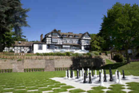 The Manor Elstree - One Night Gourmet Stay for Two - Save 44%