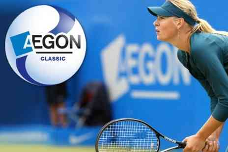 AEGON Classic Ticket Offer - Ticket for Live World Class Tennis - Save 48%