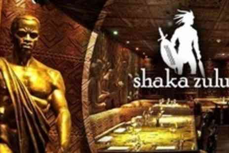 Shaka Zulu - Three Courses of Authentic South African Cuisine For Two - Save 67%