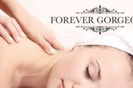 Forever Gorgeous - Full Body Tropical Scrub and Foot Massage - Save 58%