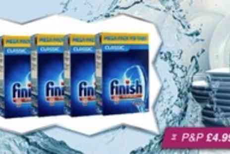 Silver Fishes - Finish Classic Powerball dishwasher tablets - Save 67%