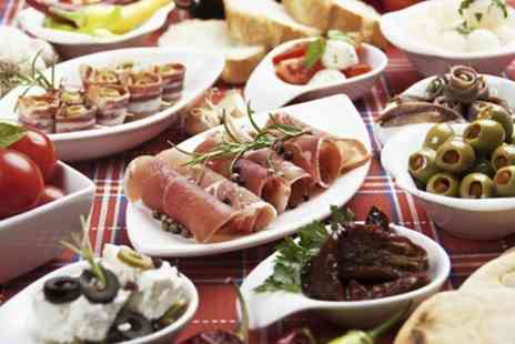 Curiositeaz Restaurant - Tapas For Two With Wine  - Save 51%