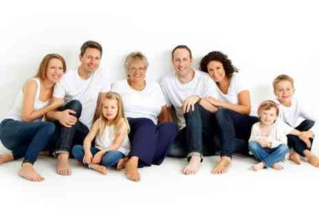 Maz of Leicester - Multi Generation Family Photoshoot  - Save 89%